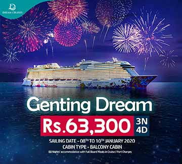 Best Deals on Genting Dream Tour by NKARBooking