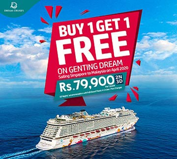 Genting Dream Buy 1 Get 1 Tour by NKARBooking
