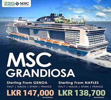 MSC Grandiosa Tour by NKARBooking